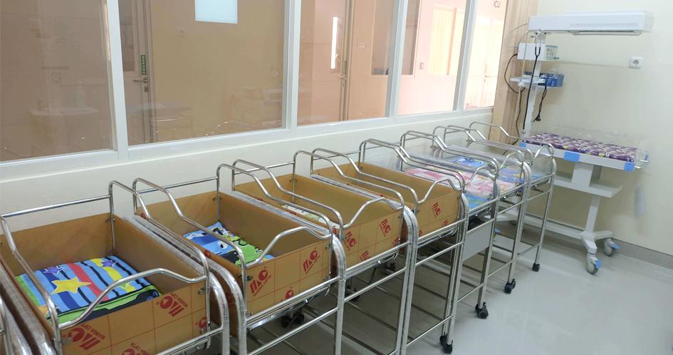 Kamar Bersalin dan Ruang Perawatan Bayi